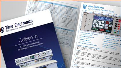 Download the CalBench PDF Brochure