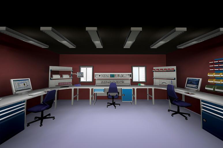 calibration lab design images